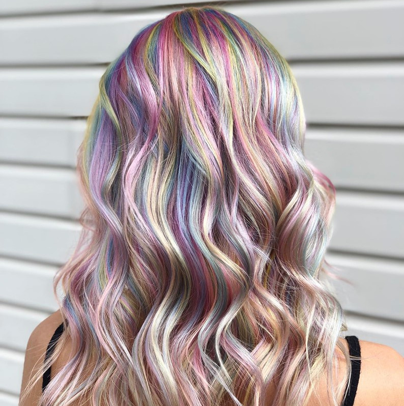 Candy Rainbow using Pulp Riot colors